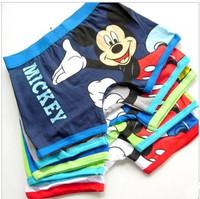 Wholesale kids underwear/ Boy's underwear,Character Pure Cotton  boxer underwear Free Shipping