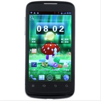 "Free shipping Dual-core 1GHz 512M+4G 4.0"" Screen Android 4.0 Dual SIM 5.0MP original ZTE V889M cell/mobile phone"