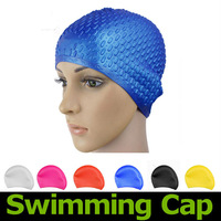 2013 Hot Fashion Durable Outdoor Men's Women's Sports Sporty silicon gel Swimming Swim Cap Hat Antiskid Free shipping