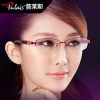 Glasses frame myopia glasses Women frame titanium eyeglasses frame fashion elegant 1853
