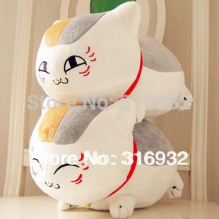 J1 35cm Natsume Yuujinchou Nyanko Sensei plush cat  anime doll toy, 2 designs can be chosen, 1pc