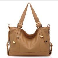 Genuine leather women's handbag 2013 first layer of cowhide one shoulder handbag Women cross-body bag big bags