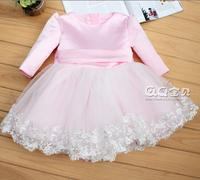 Spring and summer dress Flower girl dress  Child princess dress Wedding dress