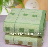 Free shipping 60*120 cm top quality soft 100% cotton yarn dyed jacquard bath towel wholesale for sale BT-014 in stock