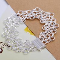 H013 Wholesale! 925 silver bracelet 925 silver fashion jewelry charm bracelet Web Ladder Bracelet