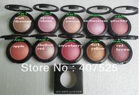 Free Shipping hot sale New Makeup 10 Colors MINERALIZE BLUSH 12g(10 pcs/lot)
