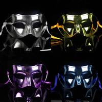 Party mask flat head plating mask Halloween Mardi Gras Masquerade mask free shipping