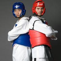 Child adult taekwondo protective gear full set of five pieces set flanchard protective bag