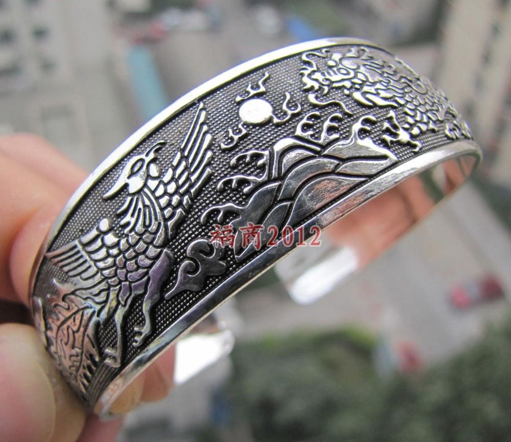 Wholesale free P7P>>>10pc Small Cuff - - - - - - miao silver tibetan silver bracelet(China (Mainland))