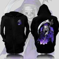 Sweatshirt clothes hip-hop hat hoodie skull outerwear music