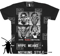 Hype means nothing t-shirt short-sleeve style jay-z westphal