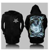 Band hip-hop punk skull loose big hoodie sweatshirt