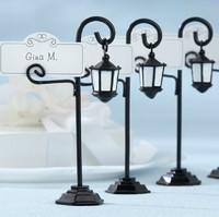 6pcs/Lot Street Lamp Namer Holder Wedding Place Card Holder Wedding Favor-European Card holder Free Shipping