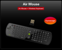 Mini wireless Gyroscope Fly Air Mouse + Keyboard RC11 2.4GHz for android TV BOX  tablet PC free shipping