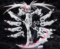 Free Shipping Japanese Anime Black Rock Shooter figma SP-033 Shiraiwa 15cm PVC Action Figures Boys Toys Doll