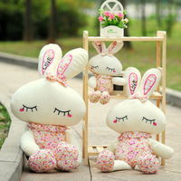 Small plush toy rabbit small doll Jack-a-Lent small doll married small gifts