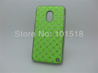 50pcs/lot Free shipping New Luxury Bling Diamond Crystal Star Hard Case Cover for Nokia Lumia 620