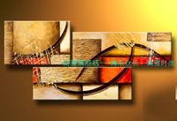 Hand painted oil painting modern abstract decorative painting on canvas picture frameless mural