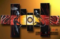Hand painted oil painting picture frameless high quality decorative painting mural cx156