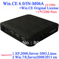 WIN.CE 6.0 core COA N380 thin client terminal with 1 COM
