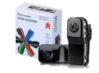 free shipping 1pcs Black Sports Video Camera MD80 Webcam web Cam Hot Selling Mini DVR Camera & Mini DV with retail package