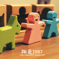 Zakka wool toy doll handmade sculpture home decoration