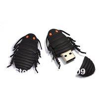 Free shipping 2GB 4GB 8GB 16GB 32GB 64GB High Speed USB flash drive,  cockroaches usb flash drive, free logo printing, Gift usb