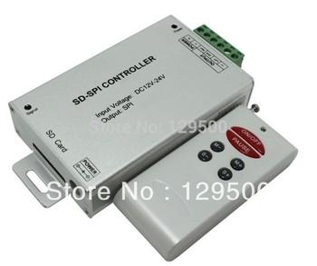 RF SD card SPI controller,Support chips for LPD6803/WS2801/ TM1803/ DM413/TM1809/D705