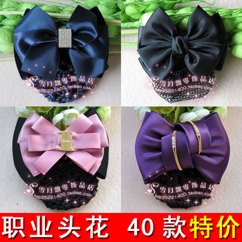 Free Shipping Bow hair accessory hairpin hair accessory hair accessory  New 2013