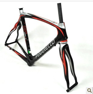 Pinarello dogma road bike prince bicycle full carbon frame black and red