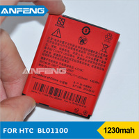 battery for HTC BL01100 A320e desire C moblile phone 1230mAh