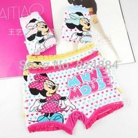 Free shipping New Minnie underwear cotton children's youngster underwear 12pcs/lot kids pants