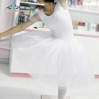 Ballet white swan tulle dress adult performance wear dance clothes clothing stage lantern sleeve princess shoes