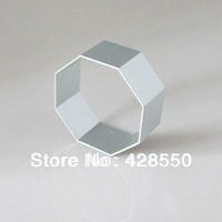 (Mini order $10 )Food Molds Aluminum Alloy Hexagon Shaped Cake / Cookie / Fruit / Vegetable Cutter Mold