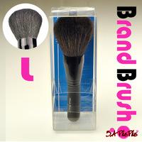 1PCS Professional Brand Soft Goat Hair Black Super Big Blusher Powder Beauty Cosmetic Makeup Wood Brush Free Shipping