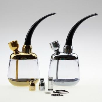 FREE SHIPPING Zobo glass of water smoking pipe hookah multiple loop filter cigarette holder hookah curling smoking set