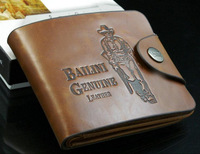 2014 New  Arrival  Antiquing  Fashionable Wallet Triple Folds Suitable For Men  Looks Generous Free Shipping Wholesale BQQ032