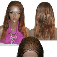 "Fully hand braided lace wig Hannah 4/33 in 17""         lace front wigs"