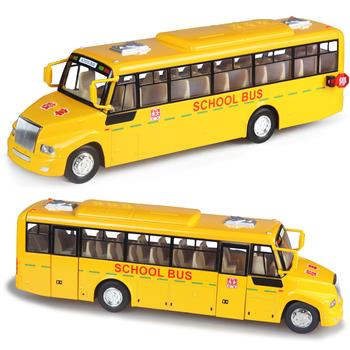 Ultralarge WARRIOR vocalization stunning big school bus toy cars