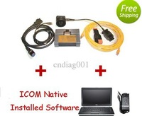 latest software 2.36,2.49 with  e5420 laptop full set for ICOM A2+B+C