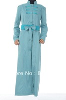 Islamic turkish women's jilbab  TK-278  Series (MOQ:1 Piece),Abaya , Jilbab, muslim woman's cloth ,arabic cloth)