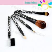 New 3set/Lot 15pcs Pro Cosmetic Makeup Brush Set Brushes Foundation Lip Eyeshadow Sponge Eyebrow Comb Wholesale 4237 sv16