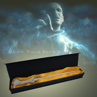 Harry Potter Severus Snape Black Magical Wand New In Box Cosplay