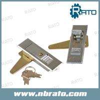 Silver Metal Electric Panel Door Lock