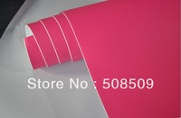 1.52*30m Rose Red Matte Vinyl Wrap Car Sticker With Air Drain New Color