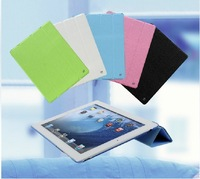 Fullbody Smart Cover Slim Magnetic Leather Stand Case Cover for New new iPad 4 iPad 3 iPad 2 (5 Colors Option)