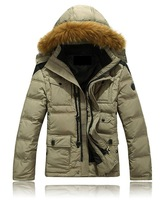 Free Shipping,Men, Male, Down jacket, thick, short, jacket overcoat