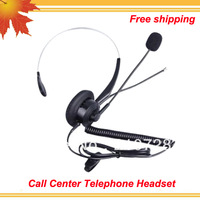 Free shipping free CALLTEL Corded Phone with RJ9 Telephone Headset
