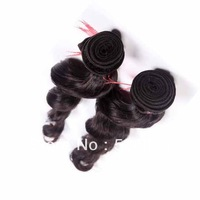 "Fast DHL free shipping human hair extension Brazilian Hair weave,body wave queen hair weft 2pcs/lot 10""-30"""