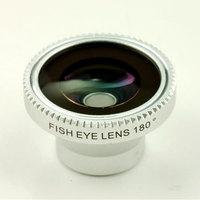 10pcs/lot,portable Detachable Fisheye Fish eye lens maganetic adsorption Lens for iPhone 4 for iPhone 5 iPod Nano 4G iPad